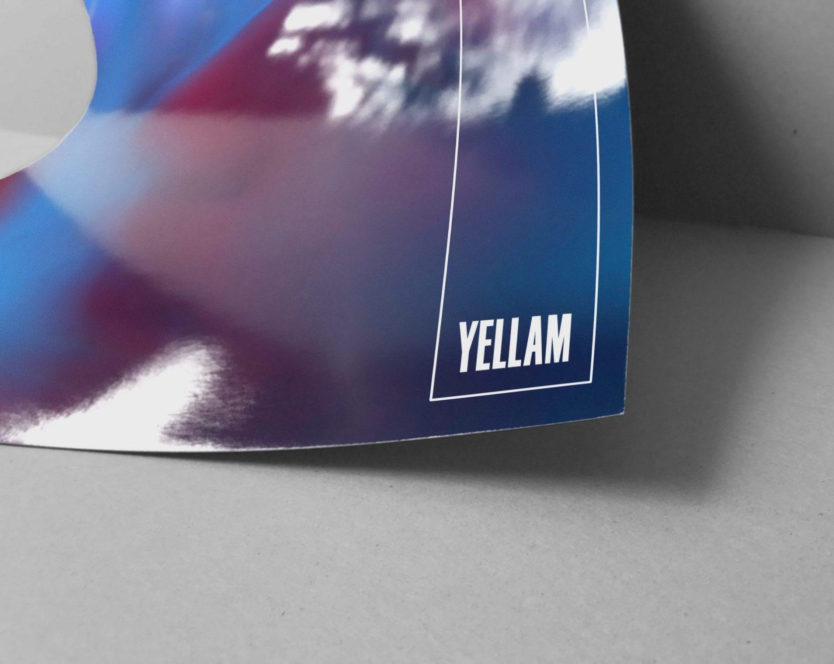 Visual asset for Yellam, by Perimetre creative studio based in Paris