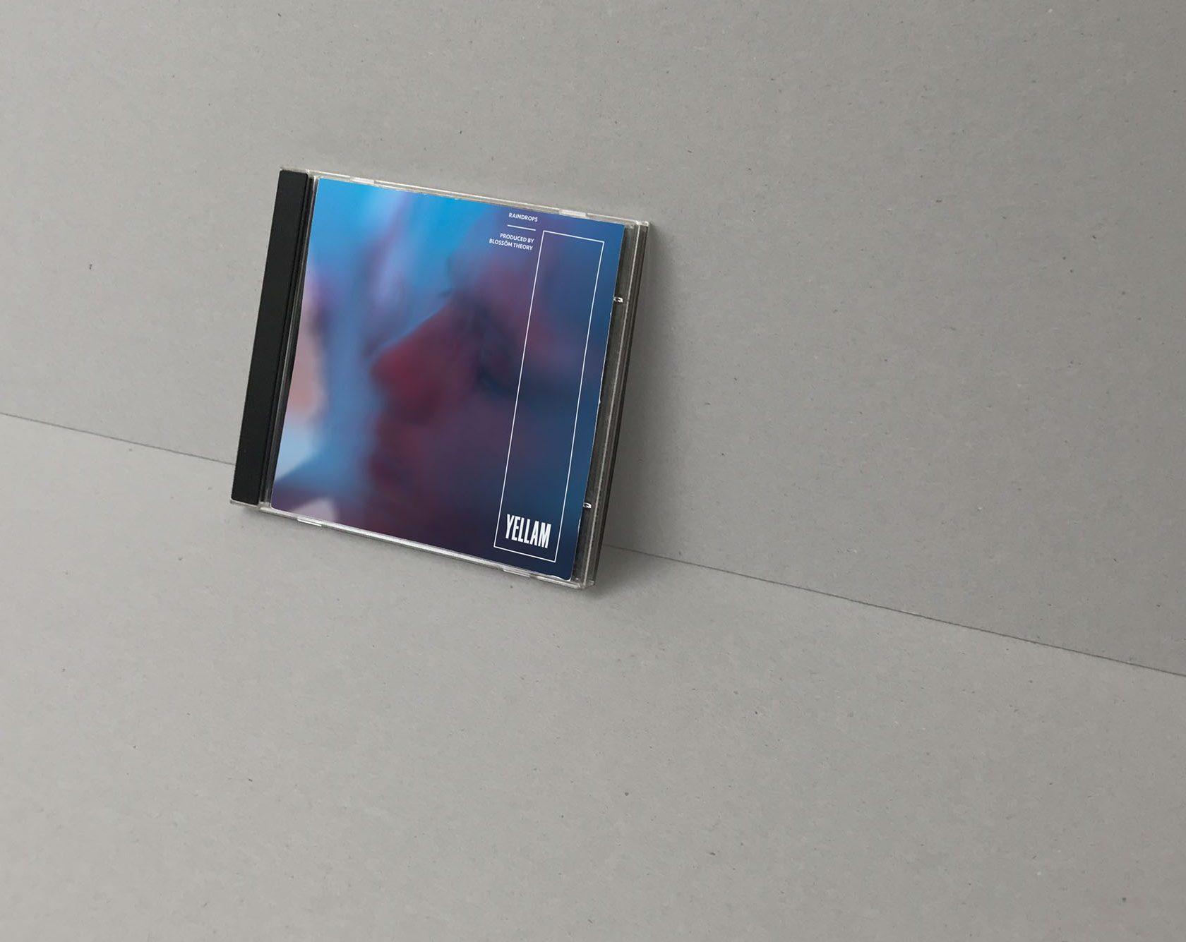 CD of Yellam, by Perimetre creative studio based in Paris