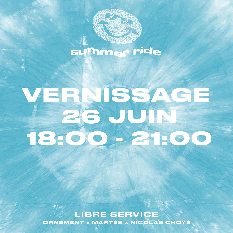 Visual of Libre Service by Perimetre creative studio based in Paris