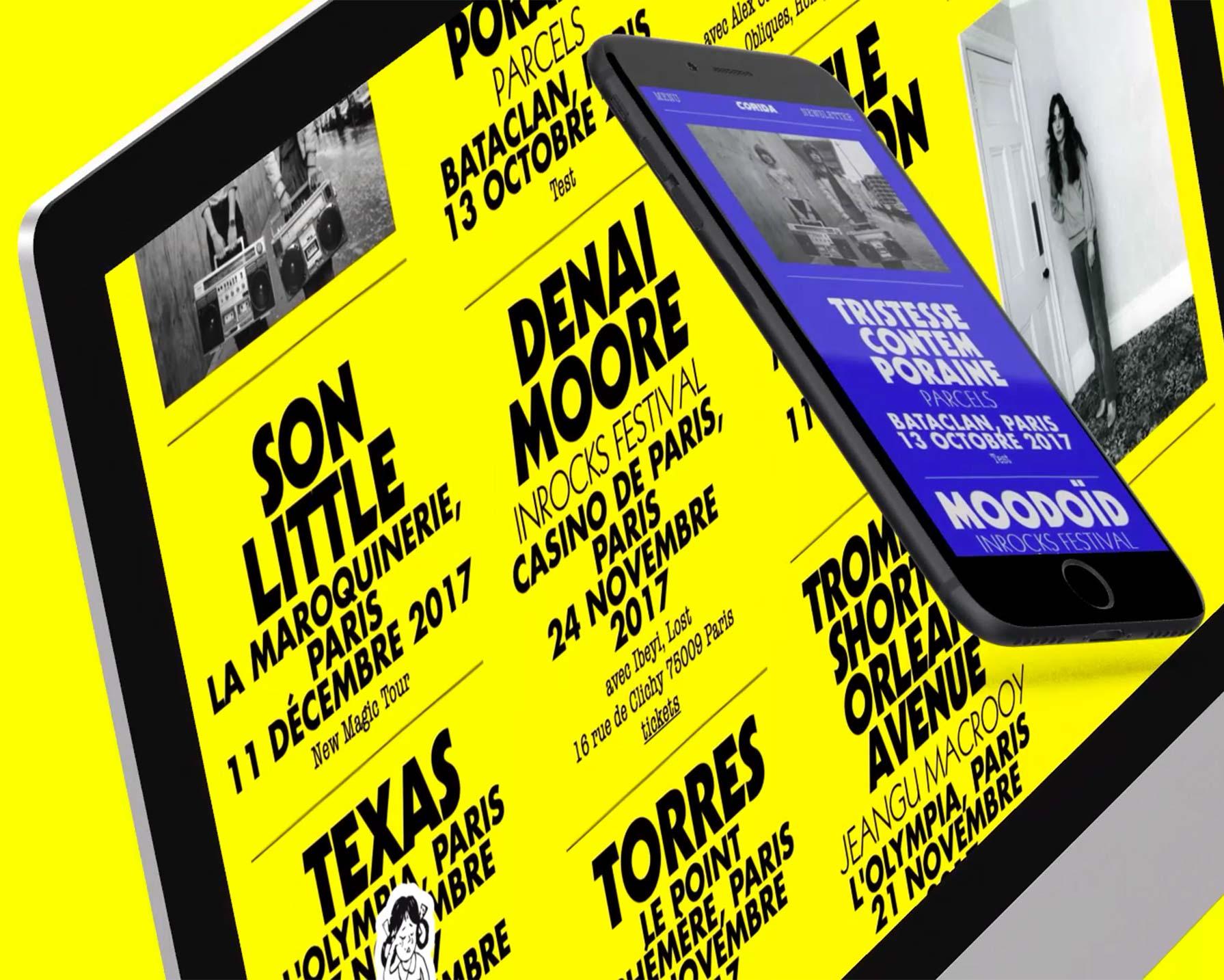 Corida website project made by Perimetre, a creative studio based in Paris