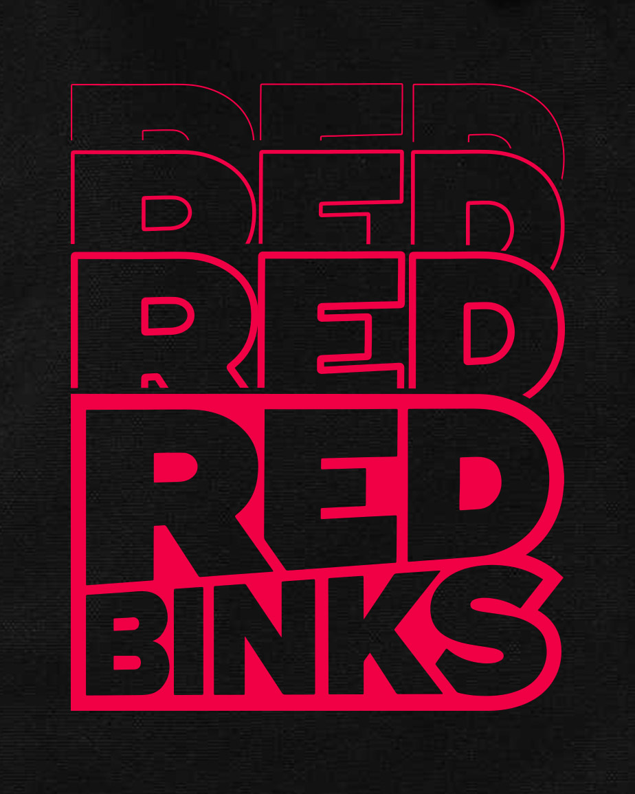 Visual identity of Red Binks by Red Bull, by Perimetre a creative studio based in Paris