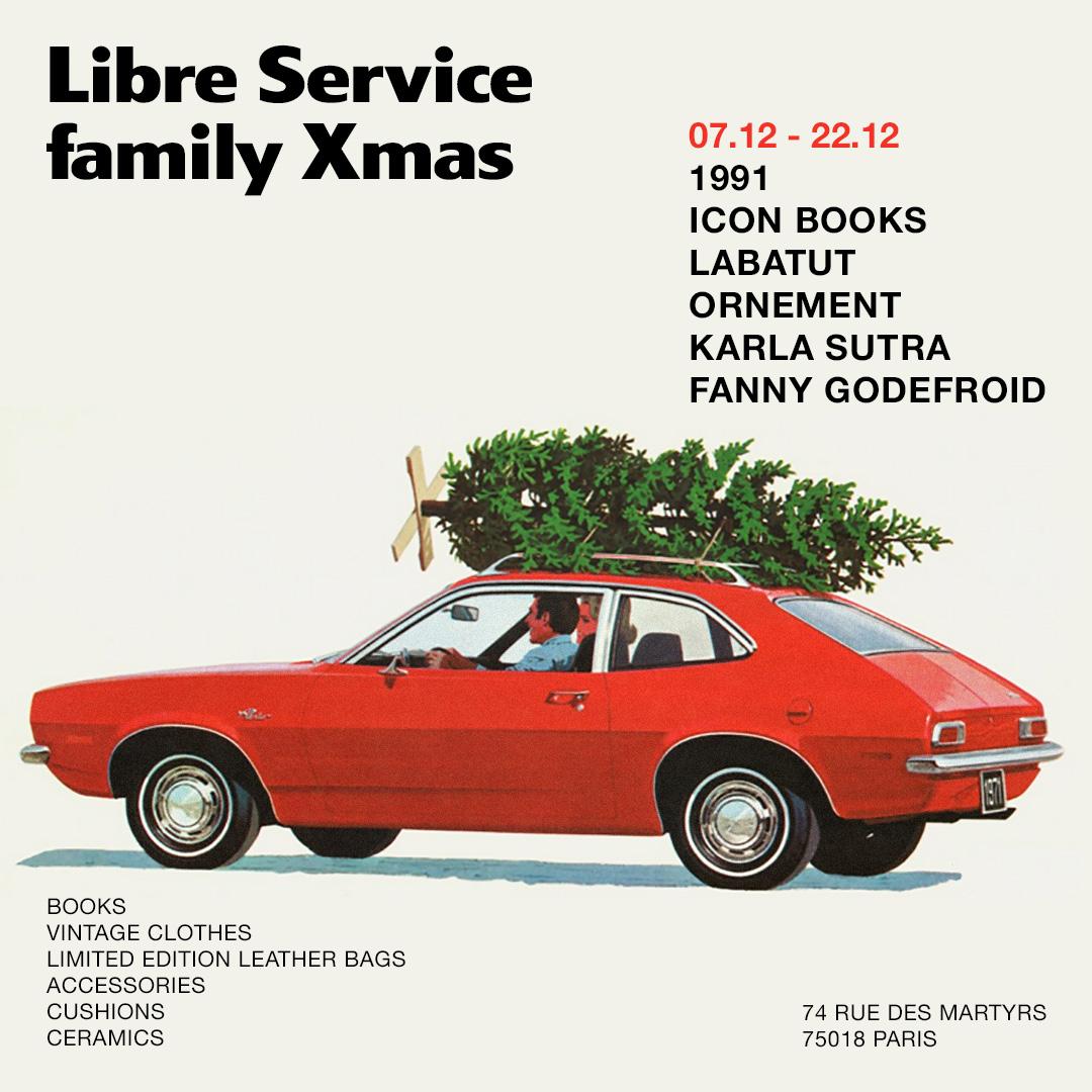 Poster of Libre Service by Perimetre creative studio based in Paris